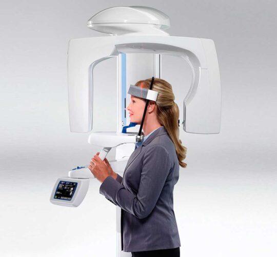 3D-снимок зубов в стоматологии