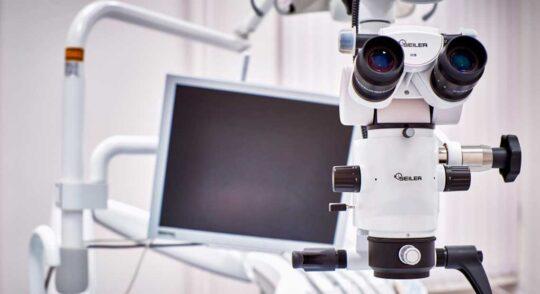 Дентальный микроскоп в стоматологии